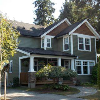 Jack's house from Cedar Cove