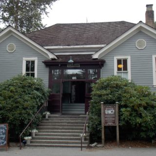 The Real Murderers Club Meeting Hall from the Aurora Teagarden Mysteries