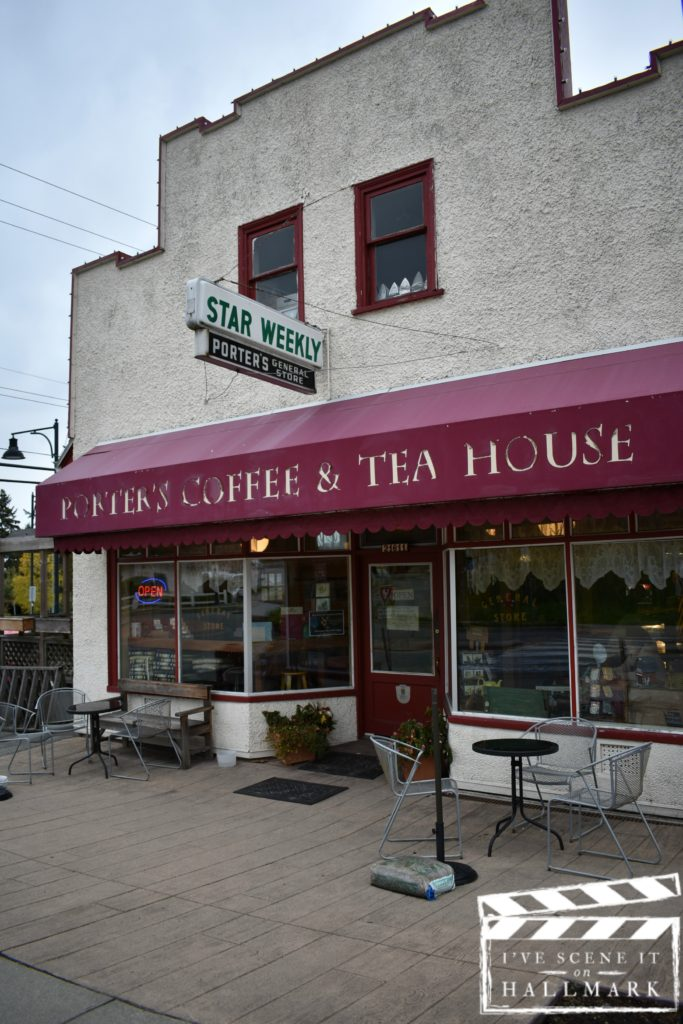Porters Bistro Coffee & Tea House by Kerry as seen on I've Scene It On Hallmark